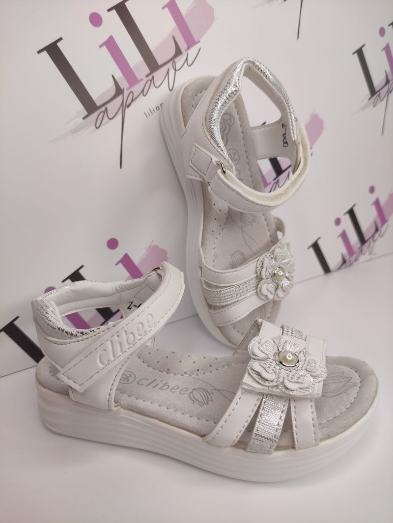 clibee sandales, meiteņu sandales, bērnu apavi