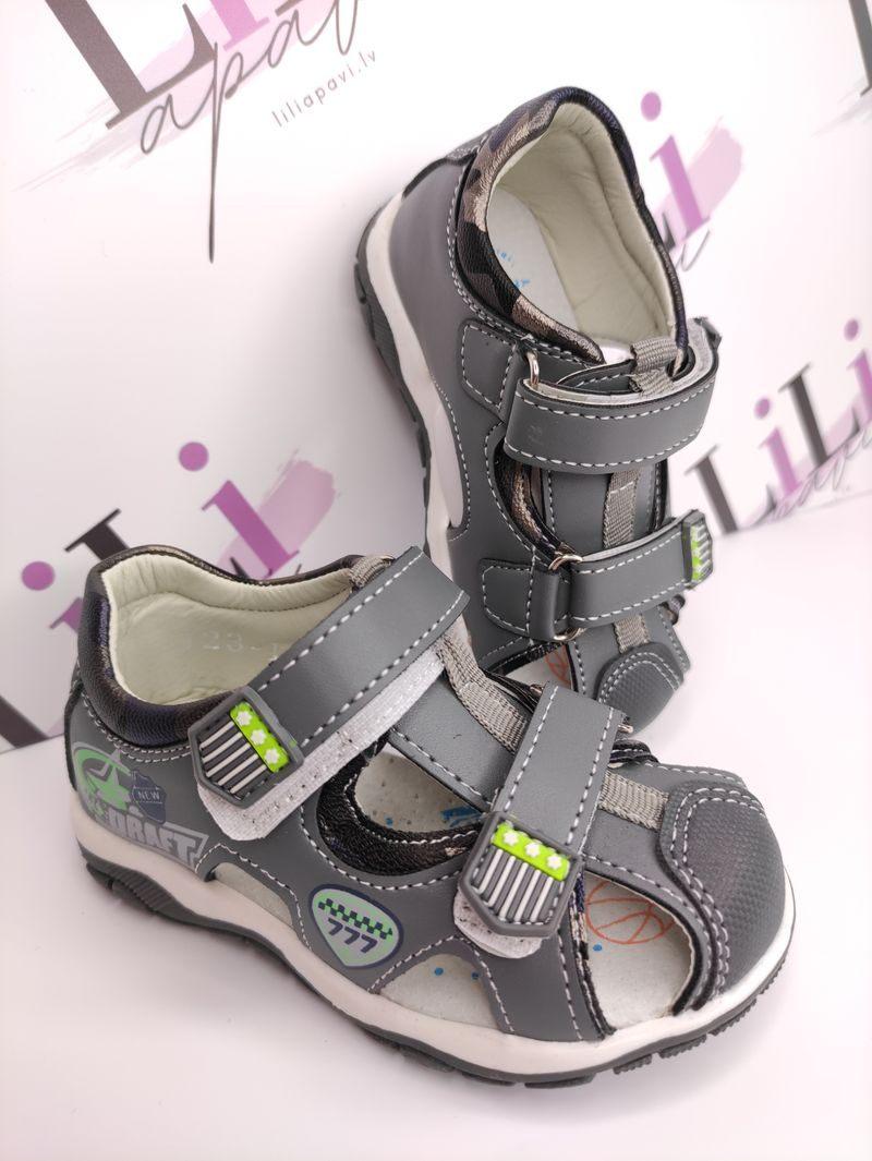 bērnu apavi, zēnu sandales, liliapavi , apavi bērniem