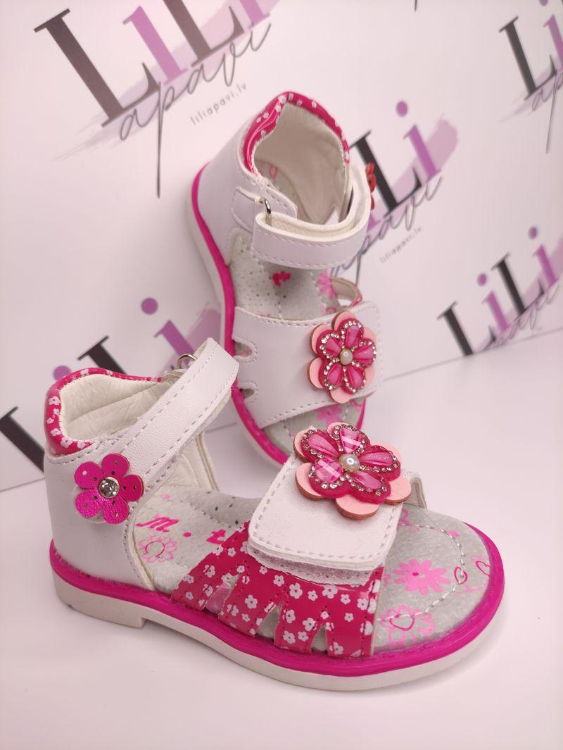 meiteņu apavi, meiteņu sandales, lēti apavi internetā, liliapavi