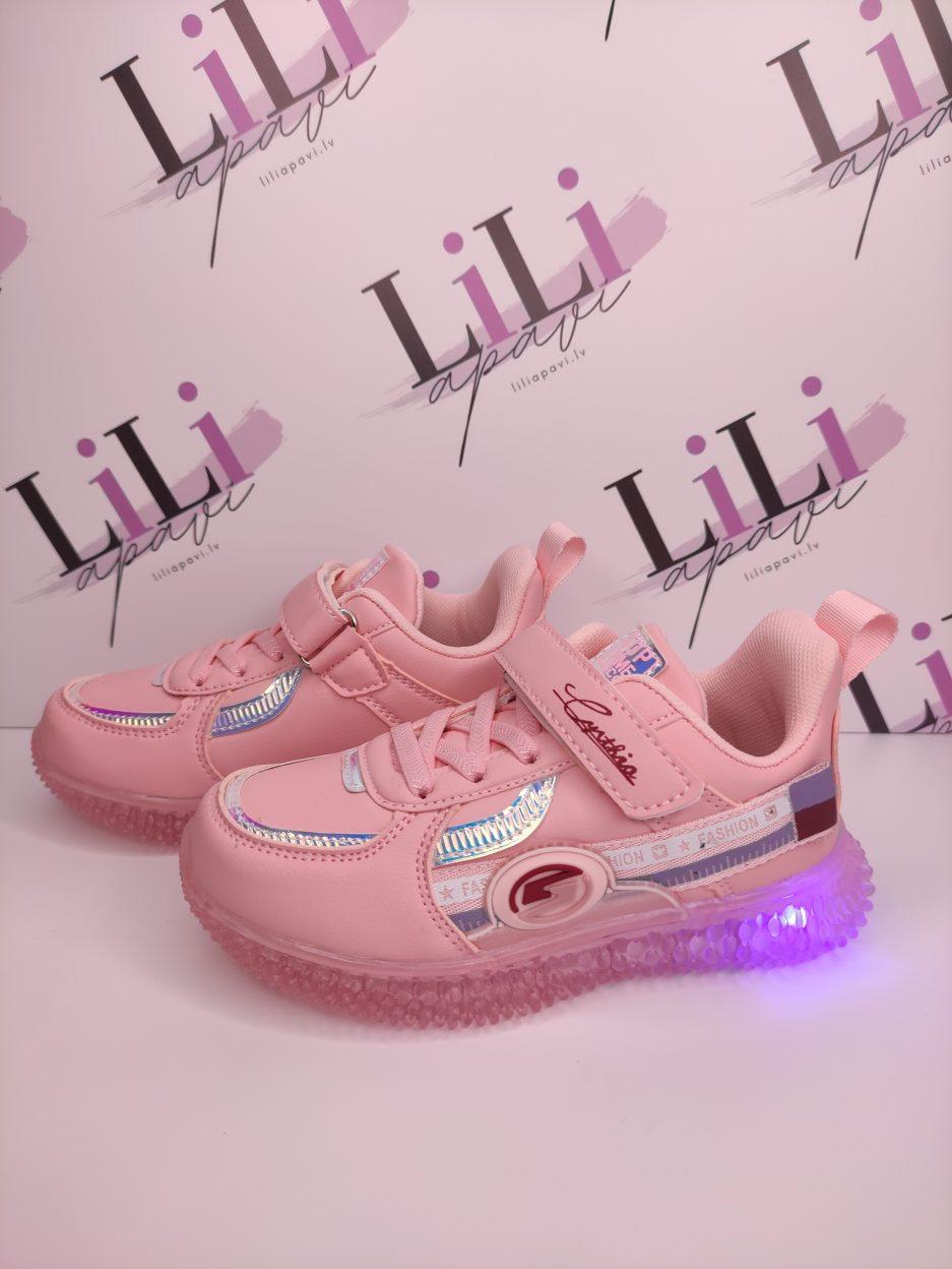 liliapavi, apavi ar gaismiņām, lēti apavi