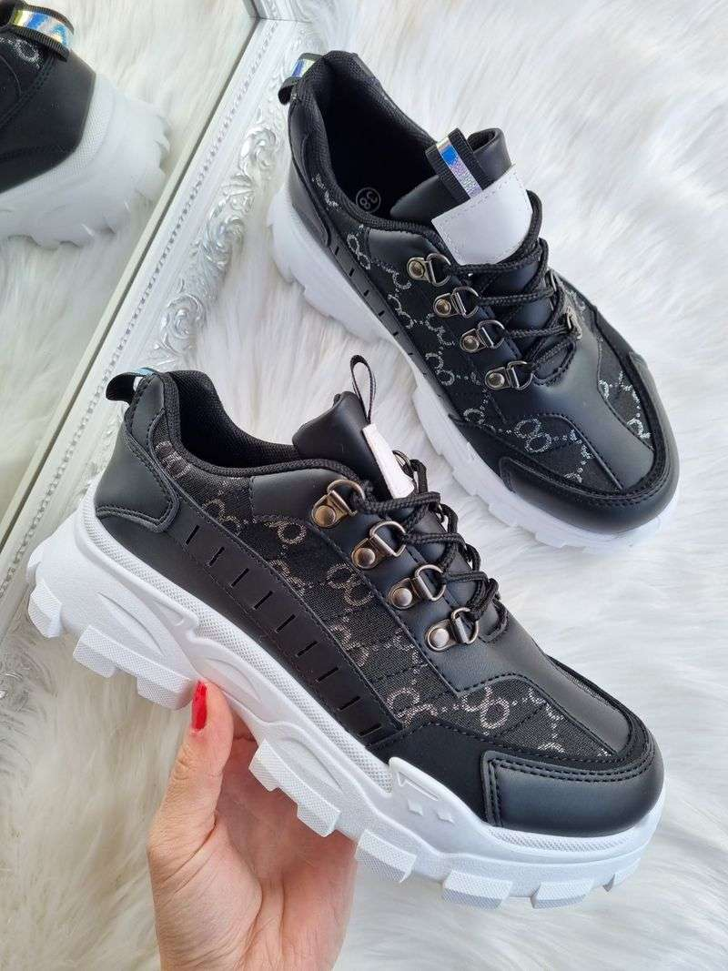sieviešu botes ar biezu zoli, melnas botas, lili apavi, sieviešu apavi internetā,