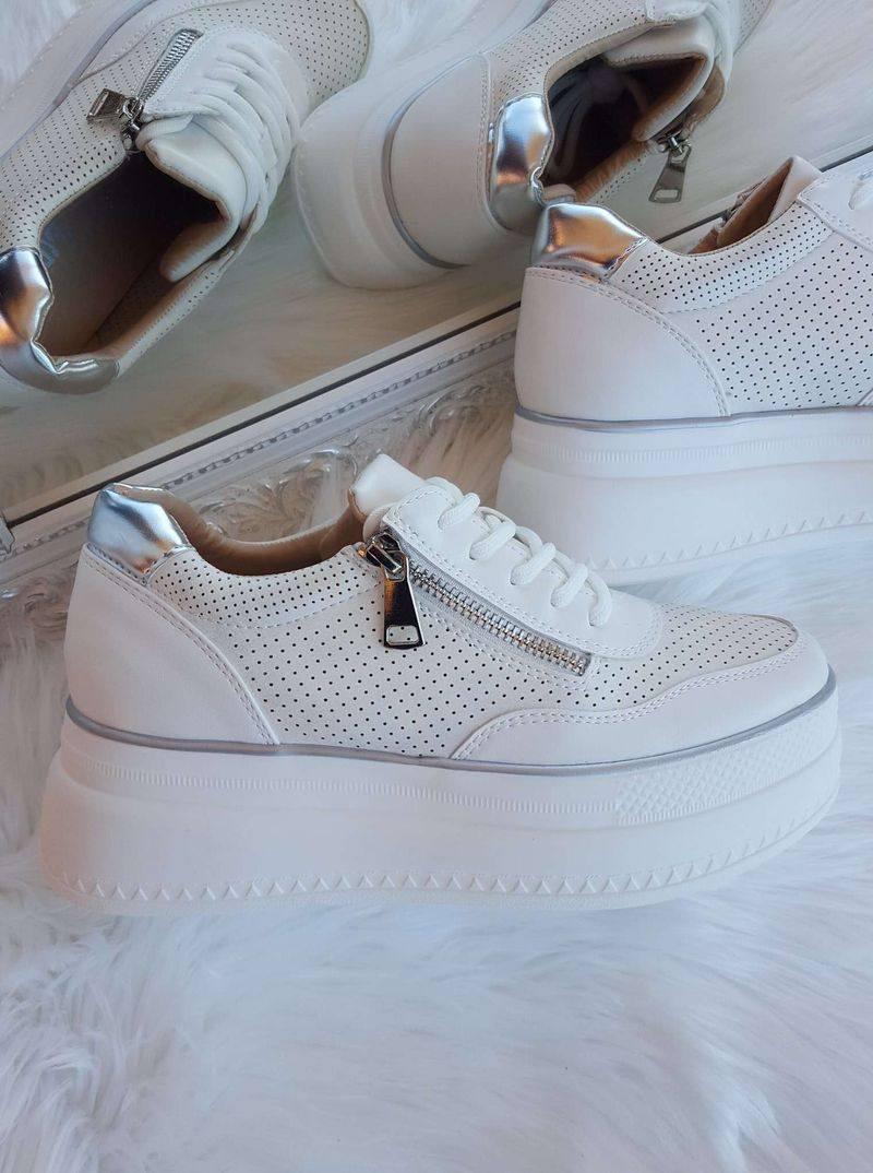 baltas sieviešu kedas, botes ar biezu zoli, ikdienas apavi, lili apavi,