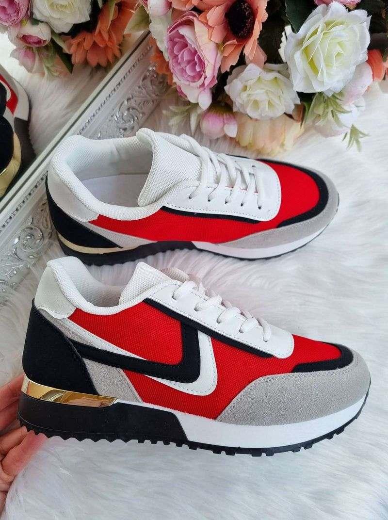 brīvā laika apavi, sieviešu botas, sarkanas botas sievietēm, apavi internetā, apavi,