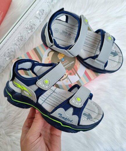 sandales zēniem, vasaras sandales bērniem, tomm bērnu apavi, apavi bērniem internetā,