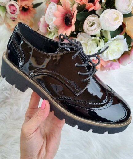 šņorkurpes, sieviešu slēgtās kurpes, sieviešu pavasara kurpes, melnas šņorkurpes, sieviešu apavi internetā,