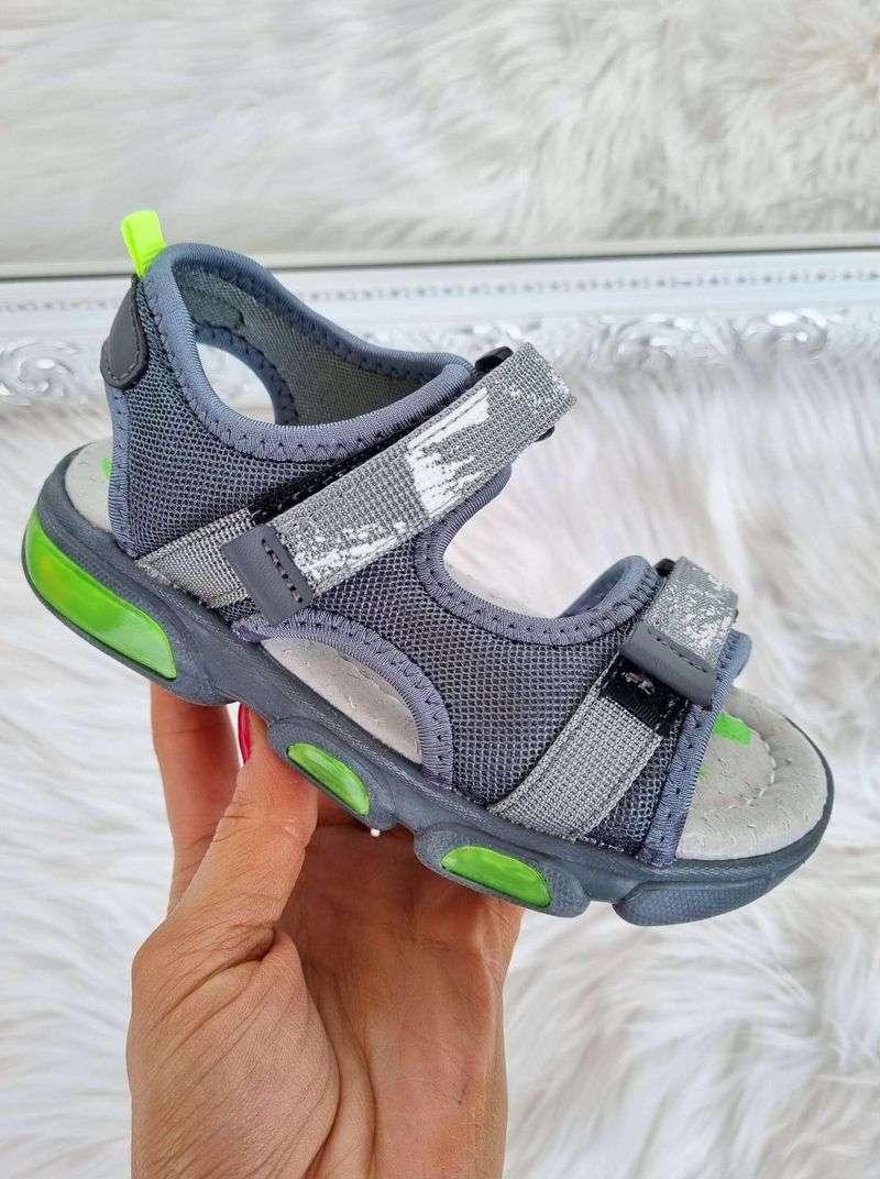 bērnu apavi, apavi bērniem, zēnu sandales ar led gaismiņām, apavi bērniem internetā,