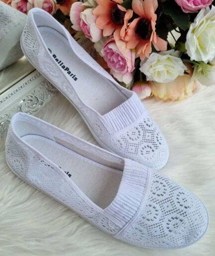 bella paris auduma kedas, brīvā laika apavi sievietēm, baltas kedas, viegli apavi, vasaras apavi sievietēm,