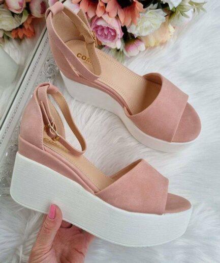 kurpes uz platformas, sandales uz platformas, apavi vasarai sievietēm, vaļējas kurpes, apavi sievietēm internetā, apavi liliapavi,