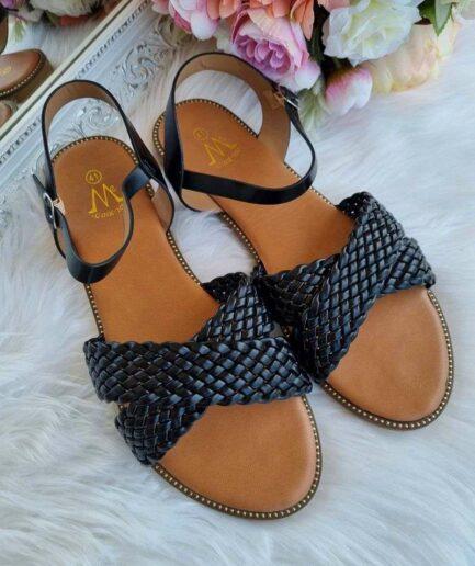melnas sieviešu sandales, 42 izmēra sandales sievietēm, lielāka izmēra apavi sievietēm, apavi 40+, vasaras basenes,