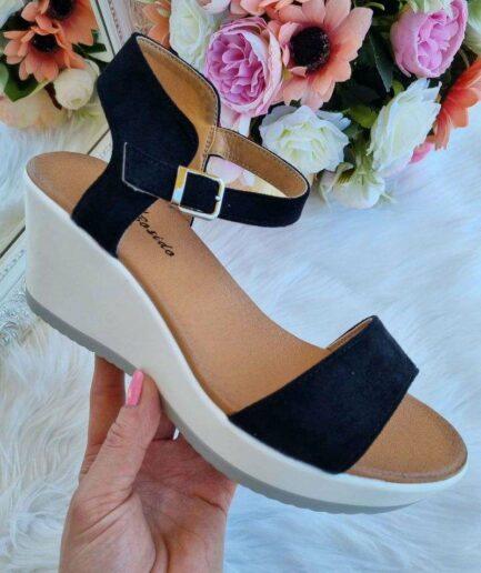 sandales uz platformas, sieviešu vasaras apavi, apavi online, sieviešu apavi, platformas kurpes,