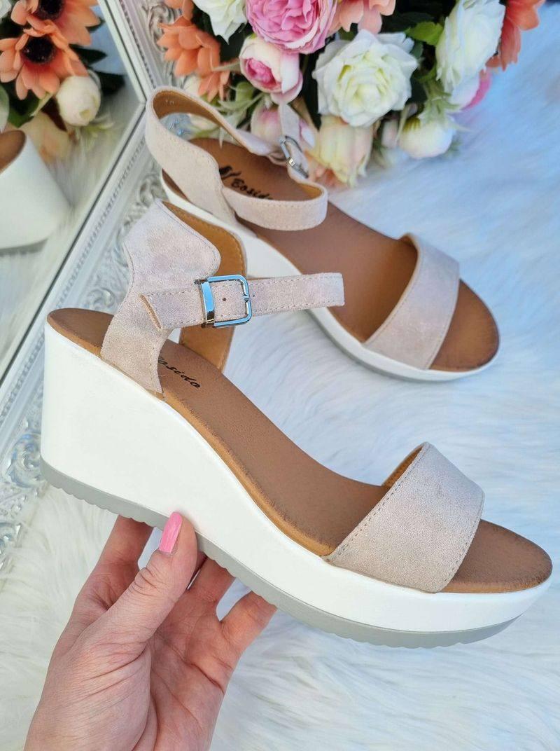 sandales uz platformas, sieviešu plaformas sandales, vasaras apavi, basenes uz platformas, apavi online, sieviešu apavi internetā,