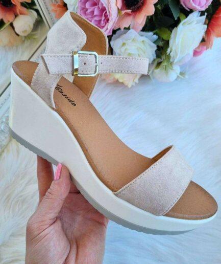 sandales uz platformas, sieviešu apavi internetā, apavi online, basenes uz platformas, vasaras apavi sievietēm, sieviešu apavi,