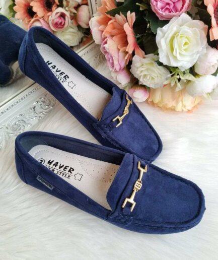 sieviešu mokasīni, ērti ikdienas apavi sievietēm, tumši zili apavi, sieviešu apavi internetā,