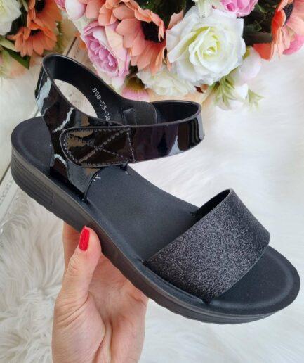 vasaras apavi sievietēm, sieviešu vasaras sandales, sandales, sieviešu apavi internetā, melnas sieviešu sandales,