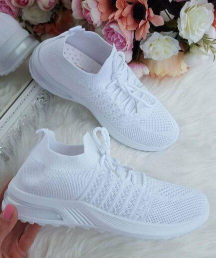 brīvā laika apavi sievietēm, baltas botas, tekstila botes, apavi online, apavi sievietēm,