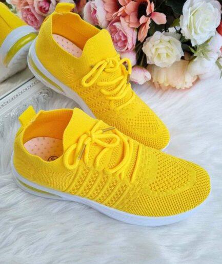 brīvā laika apavi sievietēm, sieviešu botas, dzeltenas botes, dzelteni apavi, apavi brīvajam laikam sievietēm, apavi - liliapavi,