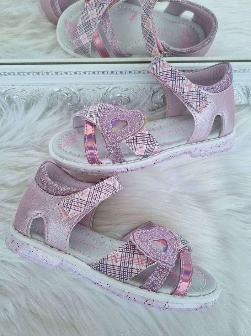 meiteņu sandales, sandales meitenēm, bērnu apavi, apavi internetā bērniem, clibee sandales,