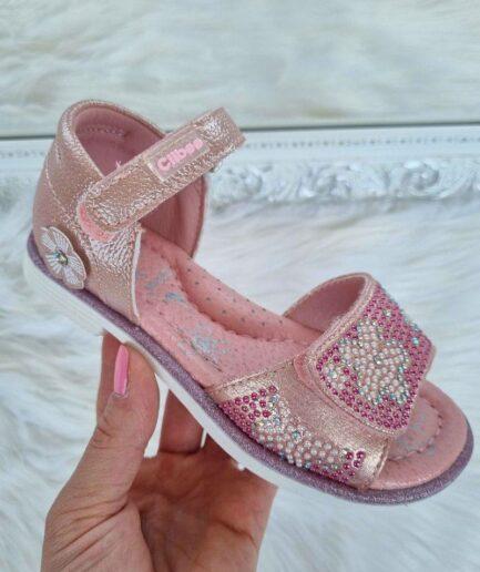 sandales meitenēm, meiteņu sandales, clibee apavi, apavi bērniem, bērnu apavi,