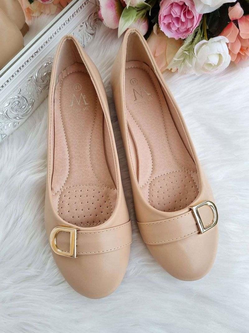 bēšas balerīnas, sieviešu apavi lielie izmēri, apavi 40+ sievietēm,