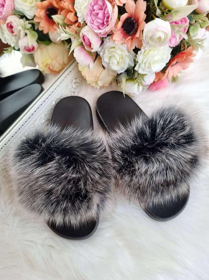 pūku čības ar dabīgo pūku, 41-42 izmēra pūku čības, sieviešu apavi internetā,