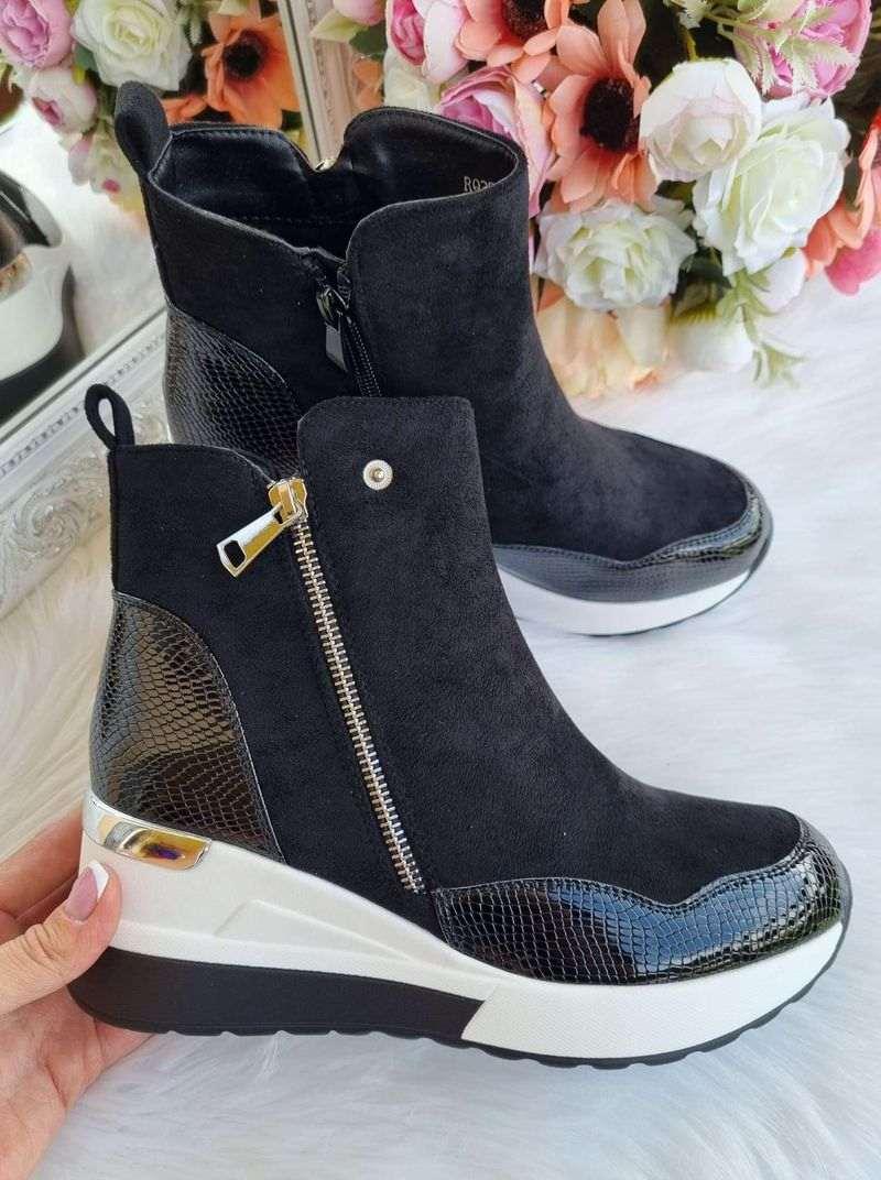 puszābaki uz platformas, sieviešu rudens apavi, sieviešu rudens zābaki, pavasara apavi,