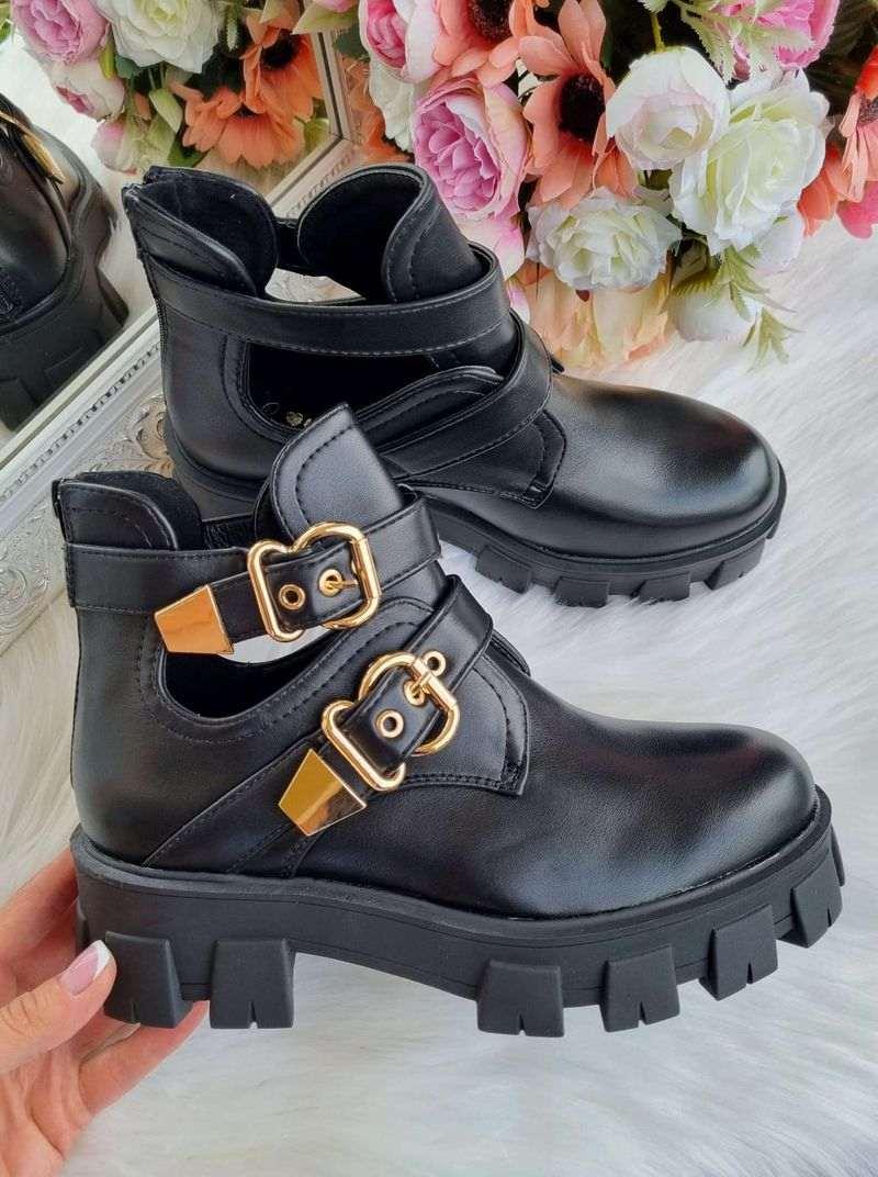sieviešu puszābaki, puszābaki ar sprādzēm, stilīgi sieviešu puszābaki, apavi online, apavi - liliapavi,