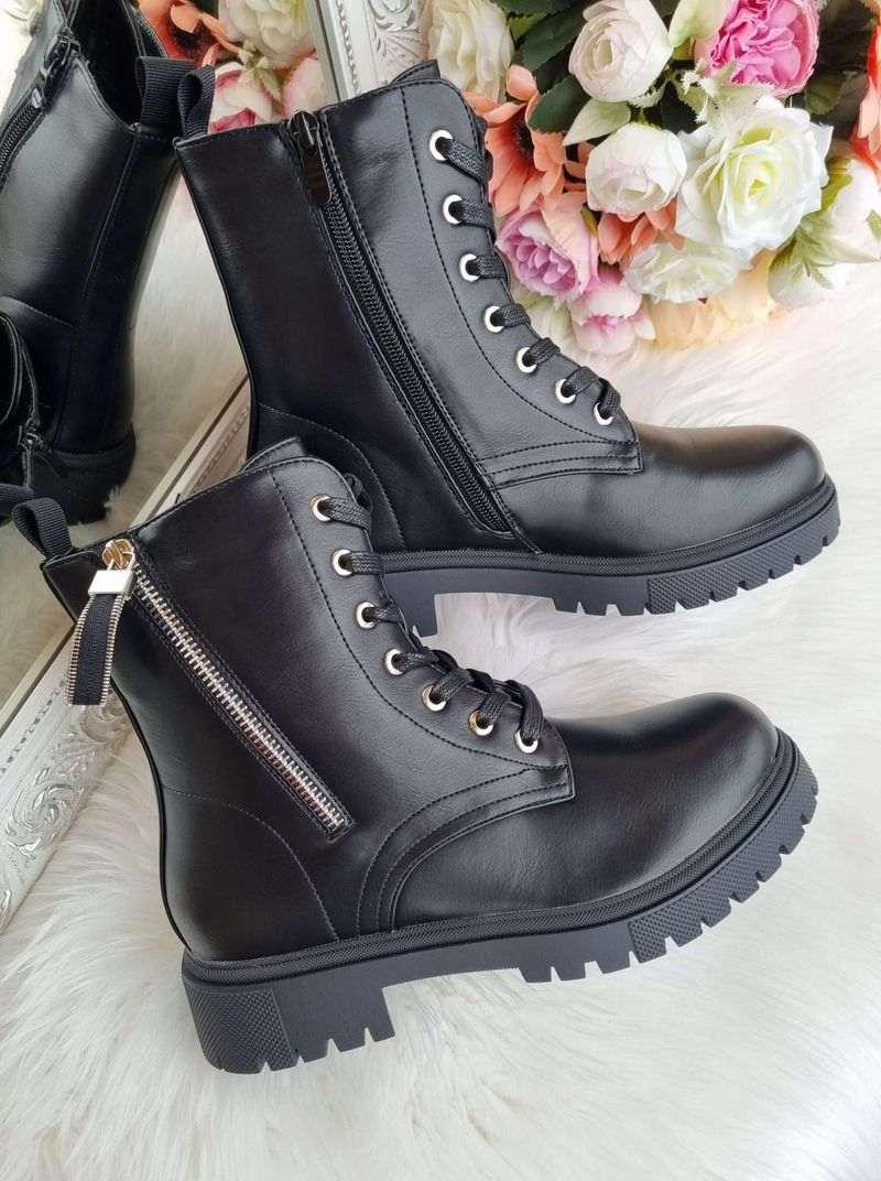 rudens puszābaki sievietēm, sieviešu rudens apavi, liliapavi internetā, klasiski melni sieviešu šņorzābaki, zābaki ar šņorēm, apavi internetā sievietēm, apavi liliapavi,