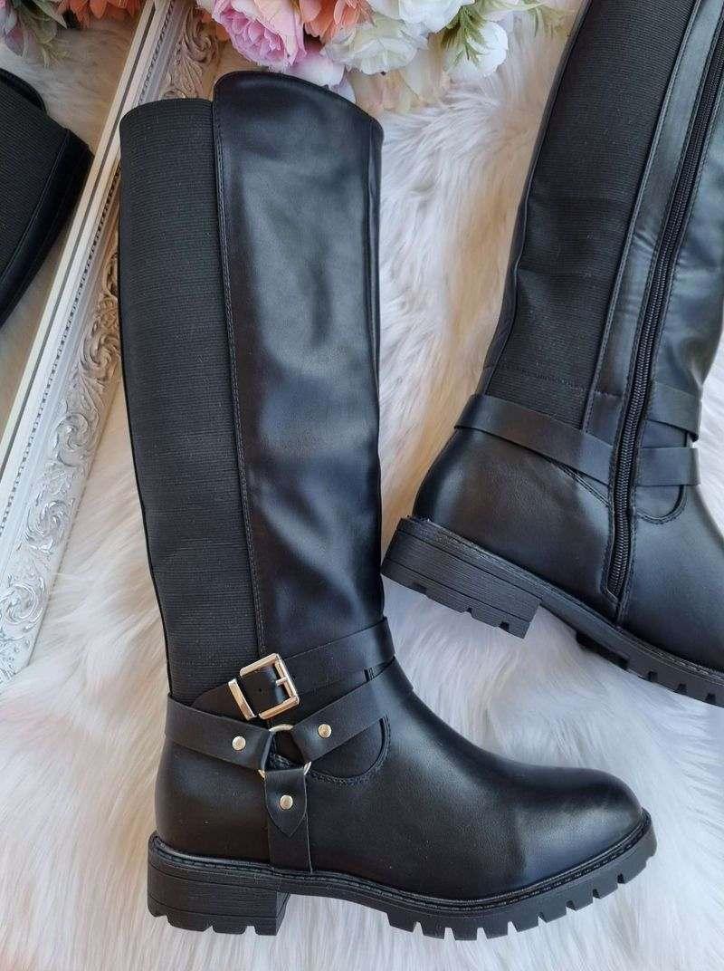 garie zābaki lielie izmēri, garie zābaki ar gumiju, garie zābaki ar platu stulmu, garie zābaki sievietēm, garie zābaki nopirkt, apavi liliapavi, apavi 40+,